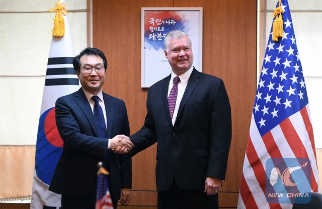 U.S. envoy for DPRK says U.S. ready to engage in working-level talks with DPRK
