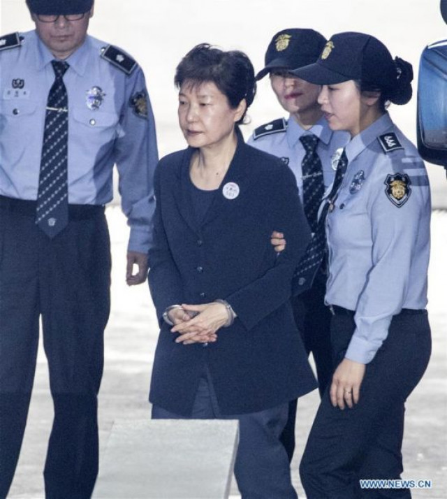 S.Korea's top court orders review of ruling on ousted president Park's bribery case