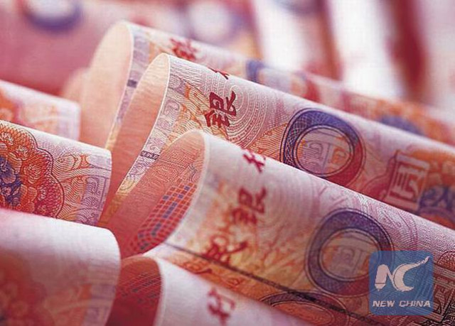 Chinese currency seen following trading of all currencies