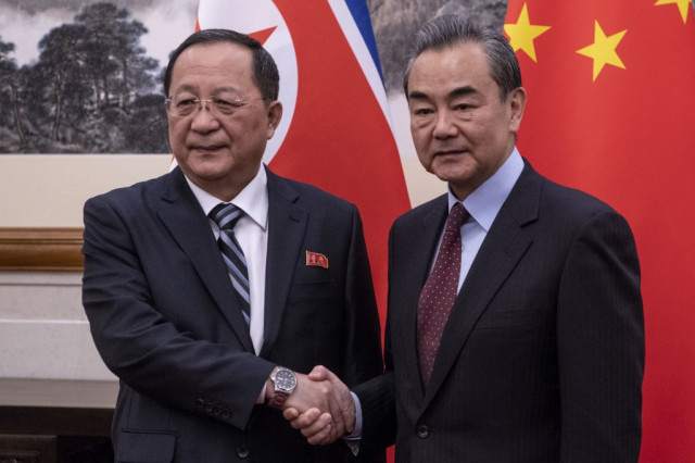 China backs N. Korea amid deadlocked nuclear talks