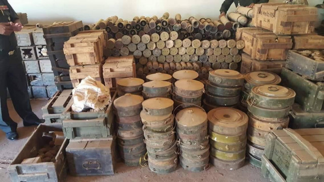 Tons of Old and Harmful Ammunition to Be Destroyed