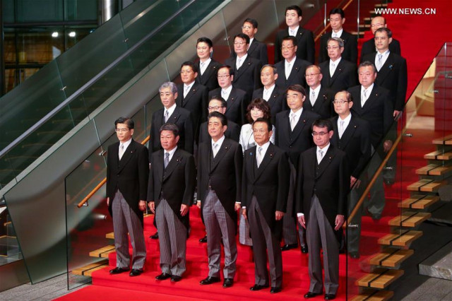 Japan's Abe reshuffles Cabinet, revamps executive lineup in bid to boost public support