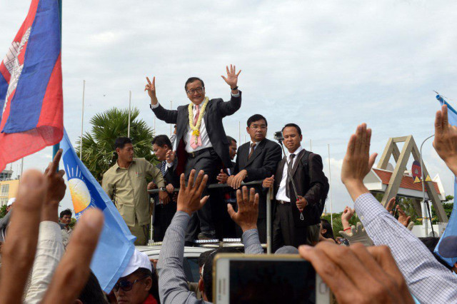 Government issues stark warning against involvement in Sam Rainsy's planned return