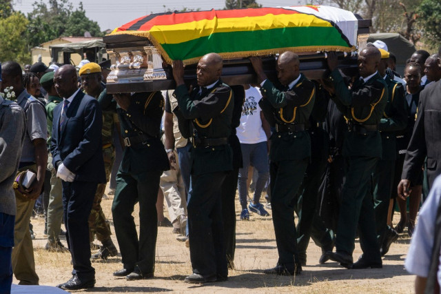Mugabe died of cancer, says Zimbabwe media