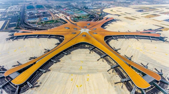 Beijing hopes glitzy new airport will take off as aviation hub