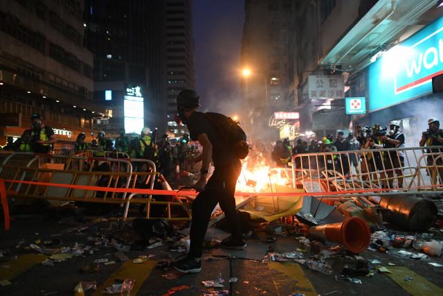 Hong Kong crisis threatens to spoil China's 70th party