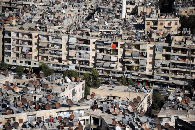 In Syria's Aleppo, reconstruction makes slow start