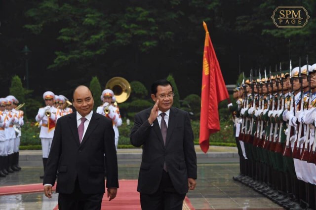 Border agreement to be signed during Hun Sen's visit to Vietnam
