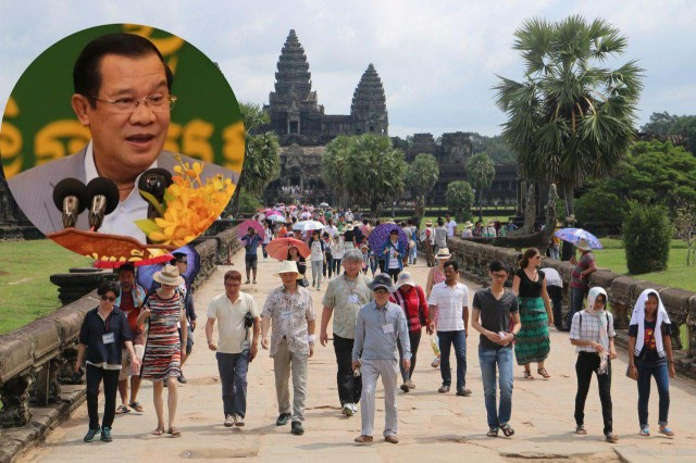 Cambodia's Prime Minister Rejects Eliminating Tourist-Visa Fees