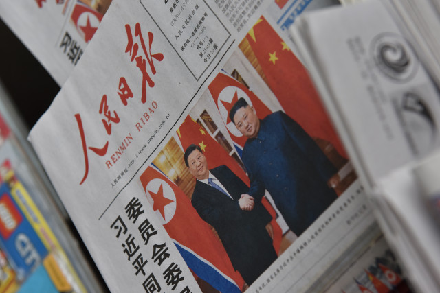 Xi and Kim hail 'immortal' China-North Korea relationship