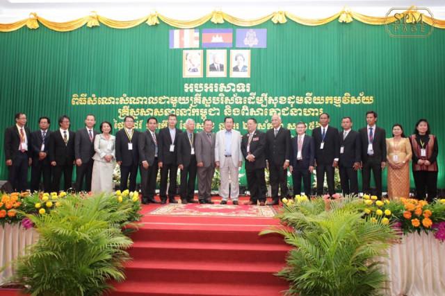 Hun Sen calls for religious harmony