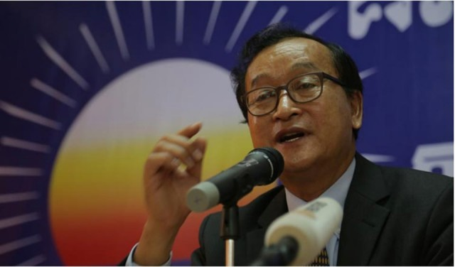 Sam Rainsy says there's 'no change' to return plan