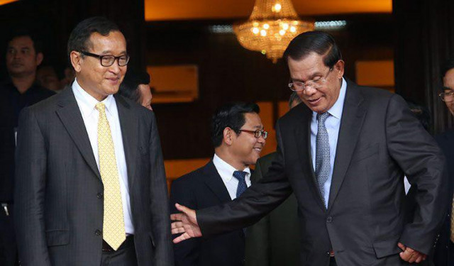 Sam Rainsy Says He Will Come to Cambodia and Face the Consequences