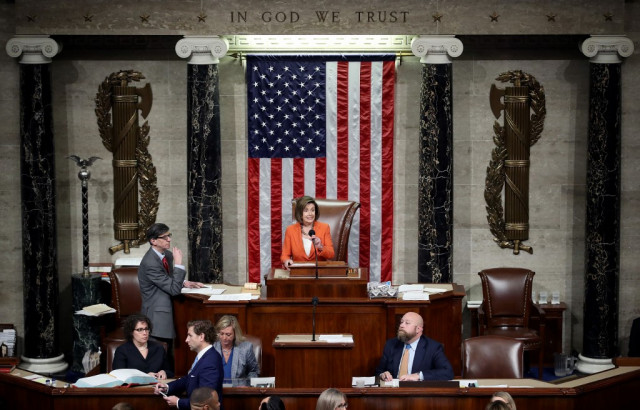 US House formalizes Trump impeachment process in landmark vote