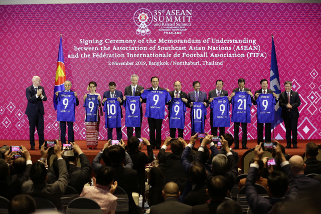 FIFA, ASEAN join hand to promote healthy lifestyles through football