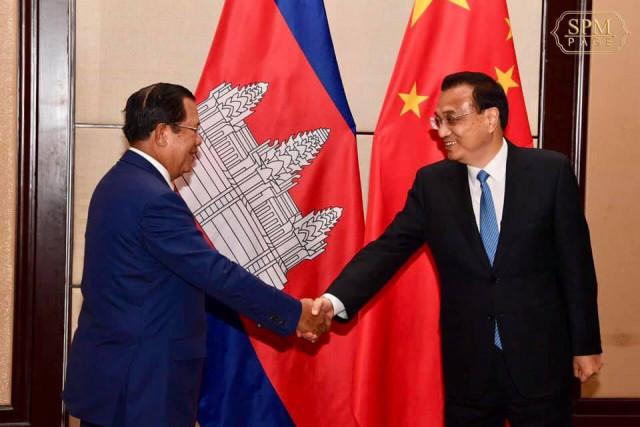 Hun Sen asks China to help develop Sihanoukville