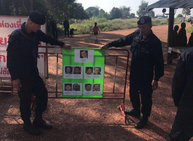 Cambodian Authorities Post Photos of Former Opposition Leaders at Cambodian-Thai Border