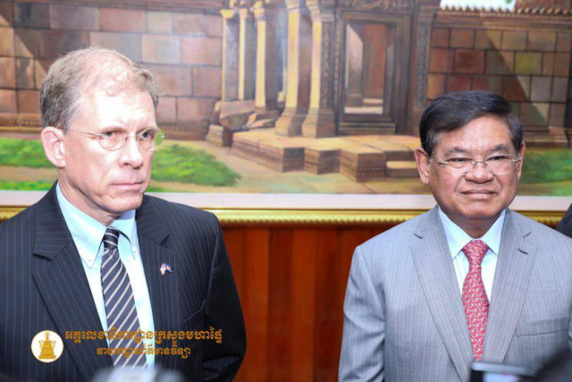 U.S. Ambassador calls for democracy to be restored in Cambodia