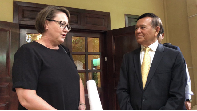 Australia Urges Cambodia to Handle Kem Sokha's Court Case Fairly