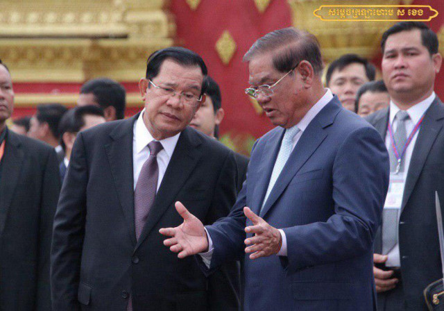 Sar Kheng Says He Won't Let Cambodia Plunge Back into its Dark History
