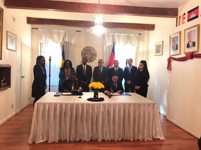 Cambodia and Barbados Establish Diplomatic Ties