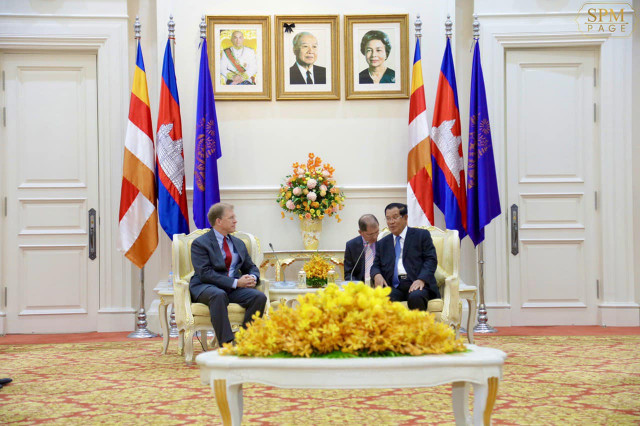Trump invites Hun Sen to attend U.S.-ASEAN Summit next year