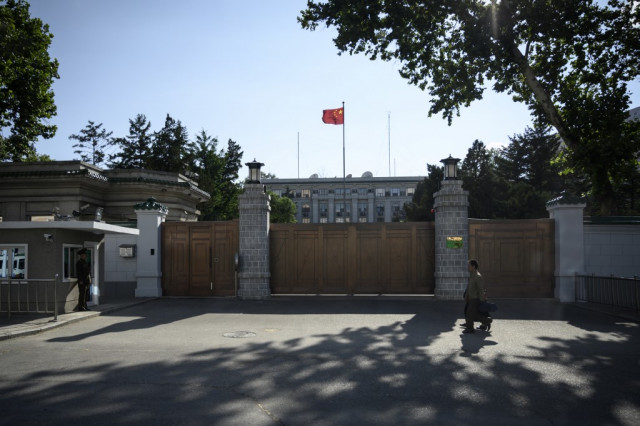 China overtakes US in number of diplomatic missions