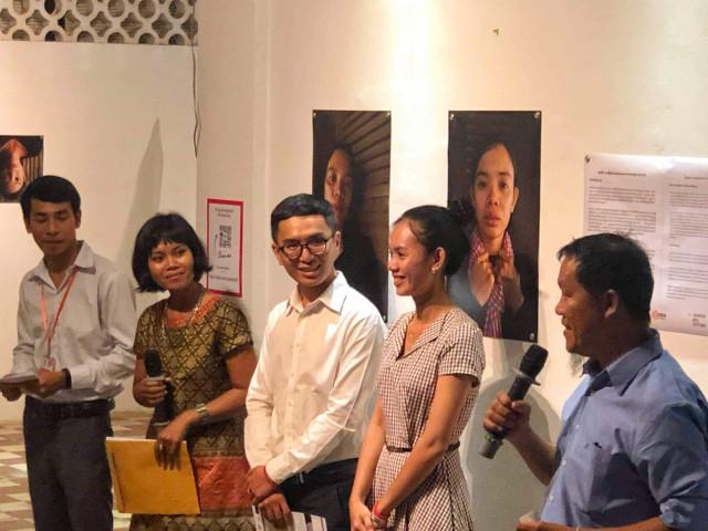An Art Exhibition at Bophana Center Addresses Violence against Women
