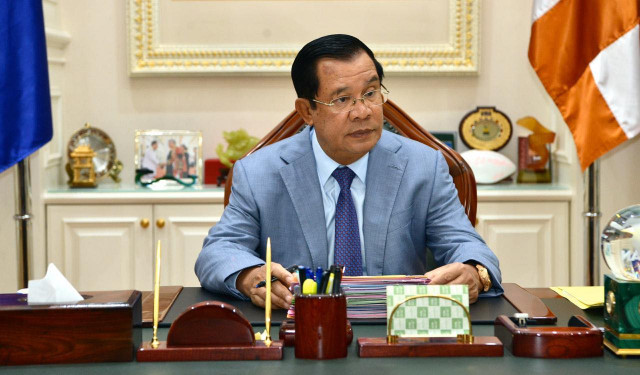 Cambodian PM renews call on fight against fake news