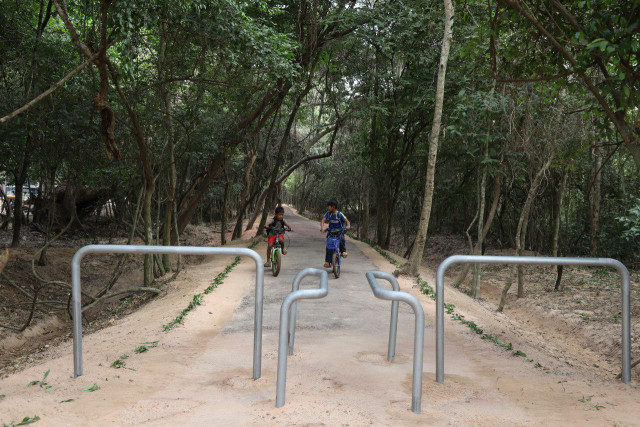Cyclists will soon be able to visit Angkor Park along their own trail
