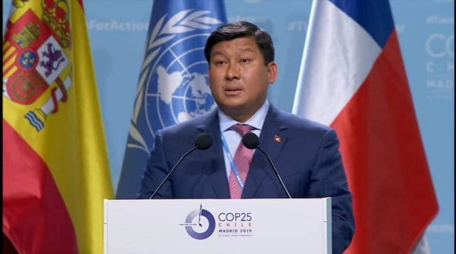 Minister of Environment Calls on Developed Countries for Climate Action