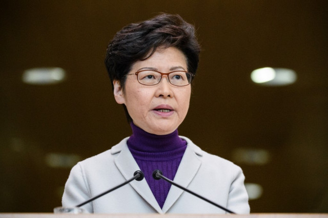 China gives Hong Kong leader 'unwavering support'