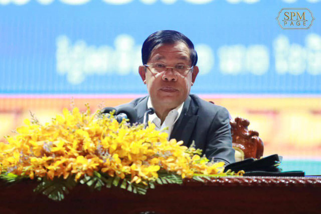 Hun Sen forbids officials to take ownership of state property