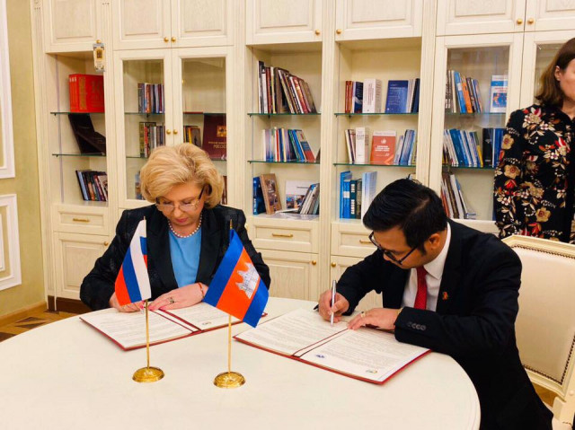 Cambodia and Russia sign human rights agreement