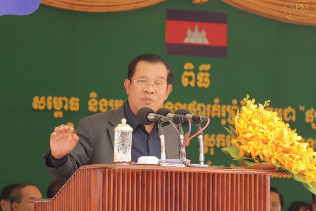 Hun Sen urges Vietnam to buy more goods from Cambodia