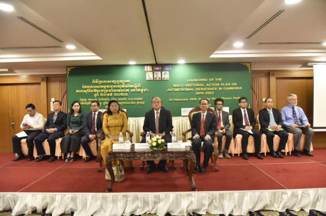 Cambodia's launches action plan to tackle antimicrobial resistance