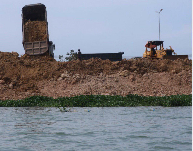 Group claims 60 pct of Phnom Penh lakes filled since 2003