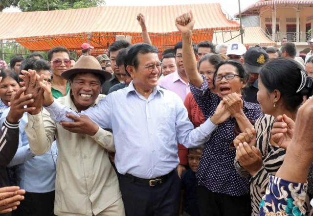 Kem Sokha Wishes Cambodians Peace for the Coming Years