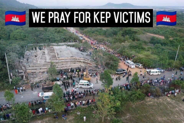 Ambassadors Send Condolence Message to victim's families in Collapsed Kep Building