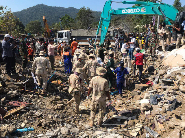 Death toll rises to 36 in Kep building collapse