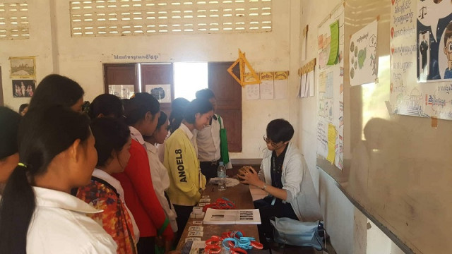 Opening the minds of students in rural areas
