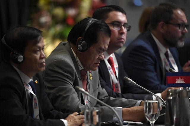 Cambodia urges regional lawmakers to address climate change