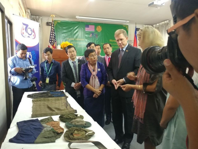 The Tuol Sleng Museum Receives US Support to Preserve Clothing Artifacts