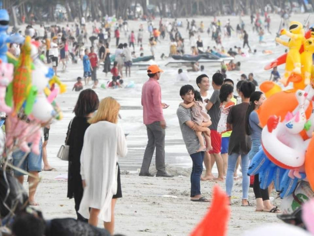 Sihanoukville attracts more locals but fewer foreigners over Lunar New Year