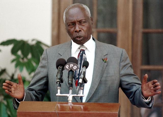 Former Kenyan president Daniel arap Moi dead at 95