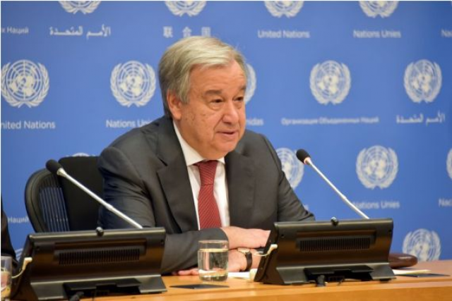 UN chief voices concern about potential discrimination due to coronavirus
