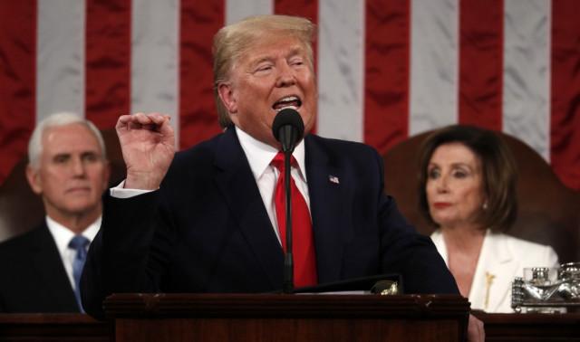In political triumph, Trump acquitted in impeachment trial