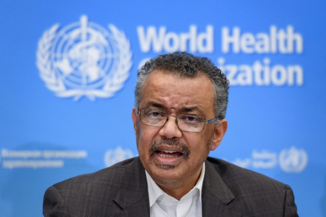 WHO chief sees chance to stop virus, warns of 'grave' threat
