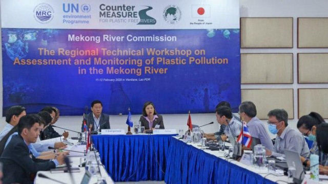 Countries along the Mekong River Look into Combatting Plastic Pollution