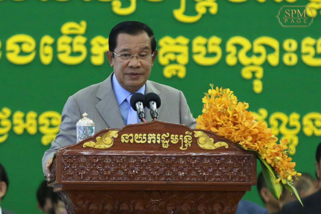 Hun Sen Issues Warning to Corrupt Government Officials